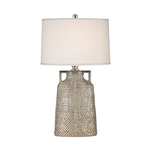 Naxos Charring Cream Glaze One-Light Table Lamp