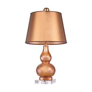 Mimosa Copper One-Light 12-Inch Table Lamp