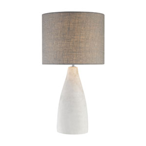 Rockport Polished Concrete One-Light 11-Inch Table Lamp