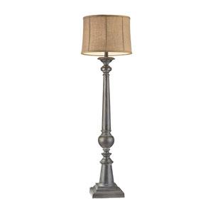 Mycroft Black Ash One-Light Floor Lamp