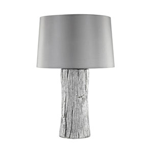 Kanamota Silver One-Light Outdoor Table Lamp