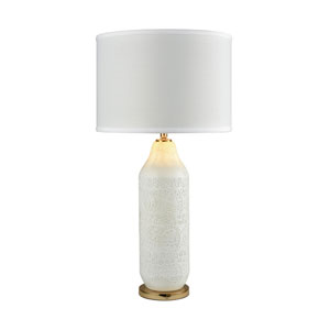 Ibiza White Gold One-Light Table Lamp