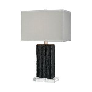 Raraku Black One-Light Table Lamp
