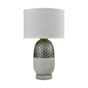 Reykjavík Polished Concrete Grey One-Light Outdoor Table Lamp