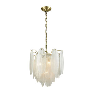 Hush White Four-Light Pendant