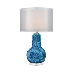 Portonovo Blue One-Light Table Lamp