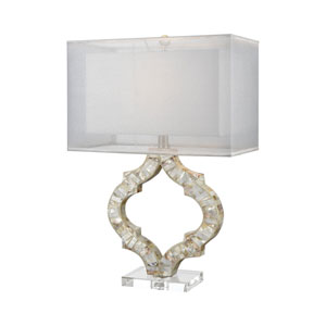 San Sebastián Natural Mother of Pearl One-Light Table Lamp