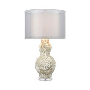 Portonovo Natural  White    One-Light Table Lamp