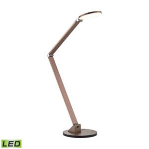 Mono Anodized Rose Gold One-Light LED Desk Lamp