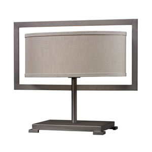 HGTV HOME Graphite Table Lamp