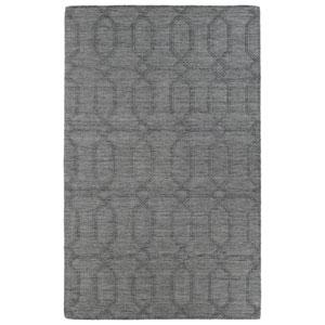 Imprints Modern Grey Runner: 2 Ft. 6 In. x 8 Ft. Rug