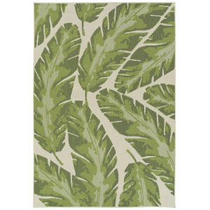 Amalie Light Green Rectangular: 3 Ft.6 In. x 5 Ft.6 In. Rug