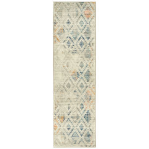 Ania Silver Runner: 2 Ft.3 In. x 8 Ft.