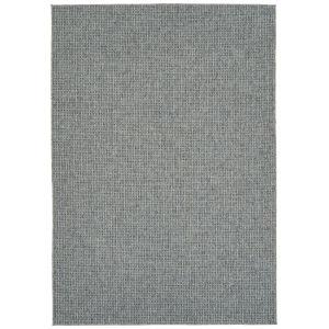 Bacalar Blue Gray Rectangular: 4 Ft. x 6 Ft. Rug