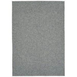 Bacalar Blue Gray Rectangular: 5 Ft.3 In. x 7 Ft.6 In. Rug