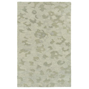 Calvin Ivory and Sand 8 Ft. x 10 Ft. Area Rug