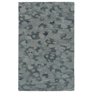 Calvin Blue and Gray 2 Ft. 3 In. x 7 Ft. 6 In. Runner Rug