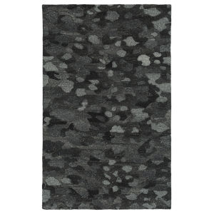 Calvin Charcoal and Gray 2 Ft. 3 In. x 7 Ft. 6 In. Runner Rug