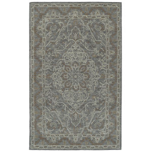 Courvert Graphite and Sand 8 Ft. x 10 Ft. Area Rug