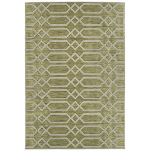 Cove Lime Green Pattern Rectangular: 7 Ft.10 In. x 10 Ft. Rug