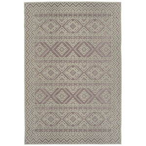 Cove Pink Pattern Rectangular: 7 Ft.10 In. x 10 Ft. Rug
