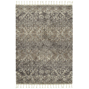 Duna Silver and Brown 9 Ft. 3 In. x 12 Ft. 5 In. Area Rug