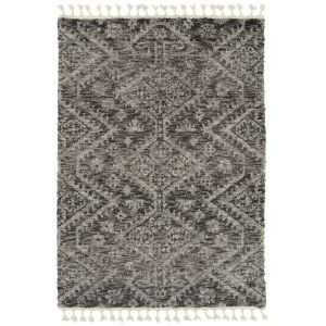 Duna Gray and Brown 5 Ft. 3 In. x 7 Ft. 3 In. Area Rug