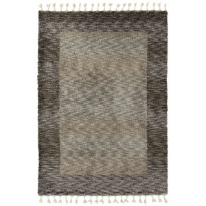 Duna Brown and Gray 5 Ft. 3 In. x 7 Ft. 3 In. Area Rug