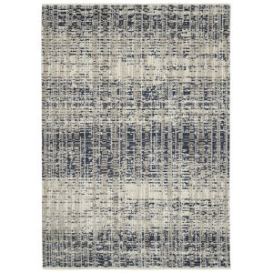Eddison Navy and Ivory 9 Ft. 3 In. x 12 Ft. 6 In. Area Rug