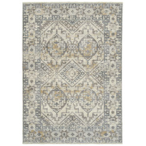 Eddison Ivory and Gray 9 Ft. 3 In. x 12 Ft. 6 In. Area Rug