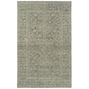 Effete Taupe and Sand 5 Ft. 6 In. x 8 Ft. 6 In. Area Rug