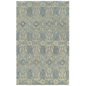 Elijah Slate and Olive 8 Ft. x 10 Ft. Area Rug