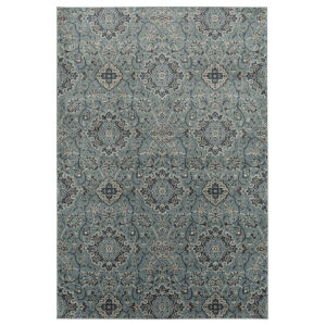 Easton Gray and Black 5 Ft. 6 In. x 8 Ft. 6 In. Area Rug