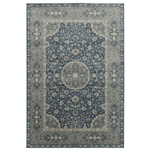 Easton Blue and Gray 9 Ft. x 13 Ft. Area Rug