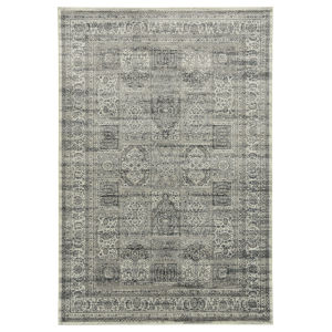 Easton Ivory and Gray 5 Ft. 6 In. x 8 Ft. 6 In. Area Rug