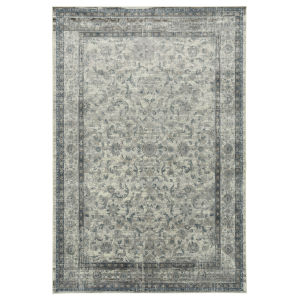 Easton Ivory and Taupe 5 Ft. 6 In. x 8 Ft. 6 In. Area Rug