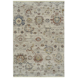 Rila Taupe Rectangular: 5 Ft.6 In. x 7 Ft.9 In. Rug
