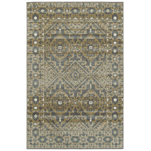 Kayden Gold and Graphite 3 Ft. 6 In. x 5 Ft. 6 In. Area Rug