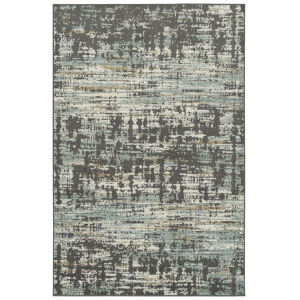 Kayden Black and Gray 8 Ft. x 10 Ft. Area Rug