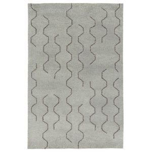 Micha Silver and Brown 3 Ft. 6 In. x 5 Ft. 6 In. Area Rug