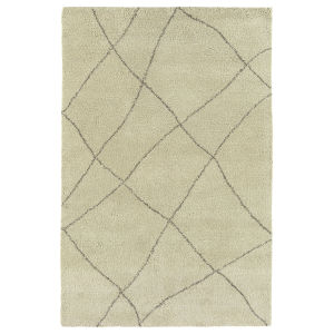 Micha Taupe and Ivory 3 Ft. 6 In. x 5 Ft. 6 In. Area Rug