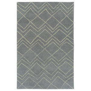 Micha Gray and Ivory 3 Ft. 6 In. x 5 Ft. 6 In. Area Rug
