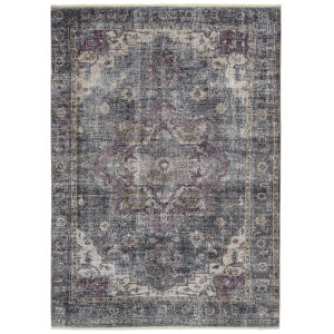 Praia Charcoal Rectangular: 7 Ft.10 In. x 9 Ft.6 In. Rug