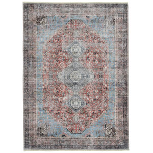 Praia Rust Rectangular: 7 Ft.10 In. x 9 Ft.6 In. Rug