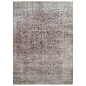 Praia Taupe Rectangular: 7 Ft.10 In. x 9 Ft.6 In. Rug