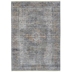 Praia Earthtone Rectangular: 7 Ft.10 In. x 9 Ft.6 In. Rug