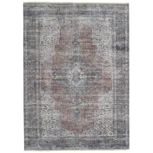 Praia Rust Iron Rectangular: 9 Ft.3 In. x 11 Ft.6 Rug