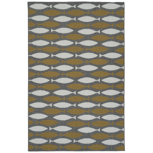 Puerto Yellow Rectangular: 3 Ft.6 In. x 5 Ft.6 In. Rug