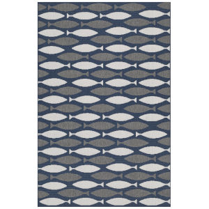 Puerto Gray Rectangular: 3 Ft.6 In. x 5 Ft.6 In. Rug