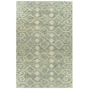 Radiance Green and Gold 3 Ft. 6 In. x 5 Ft. 6 In. Area Rug
